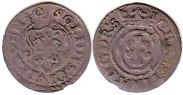 coin Riga solidus 1640