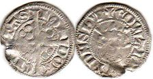 coin English old silver coin - Edward I penny