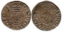 coin Cologne 8 heller 1586