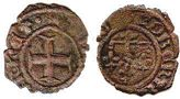 coin Naples denar ND (1309-1343)