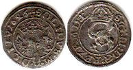 coin Lithuania 1 schilling 1626