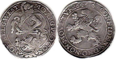 coin West Friesland Daalder (48 stuver) 1626