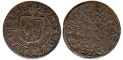 coin Zurich 1 shilling ND (1639-1641)