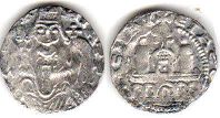 coin Cologne pfennig without date (1167-1191)