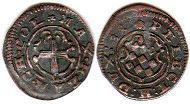 coin Cologne 4 heller 1681