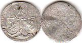 coin Chur 2 pfennig ND (1692-1728)