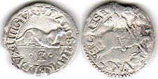 coin Urbino Armellino (1/2 carlino) ND (1538-1574)