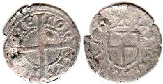 coin Livonia schilling ND (1426-1472)
