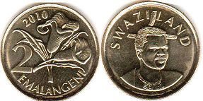 coin Swaziland 2 emalangeni 2010