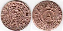 coin Elbing solidus 1632