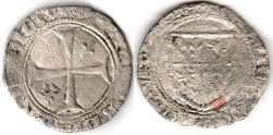 coin Dauphine Blanc small (6 denier) ND (1475)
