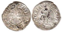 coin Metz denier 1551-1555