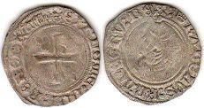 coin Dauphine Liard ND 1483-1498