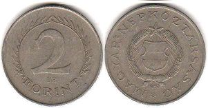 coin Hungary 2 forint 1957
