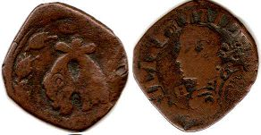coin Naples 1 torneso 1647
