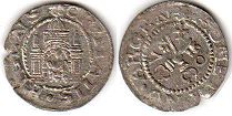 coin Riga solidus 1570