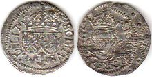 coin Lithuania 1 schilling 1616