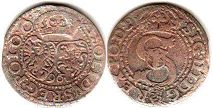 coin Poland solidus 1596