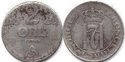 coin Norway 2 ore 1919