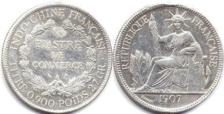 French Indochina - online free coins catalog with photos and