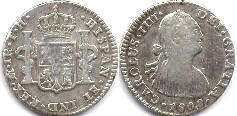 coin Mexico 1 real 1808