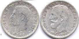 coin Romania 1 leu 1906