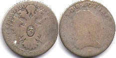 coin Austrian Empire 3 kreuzer 1820
