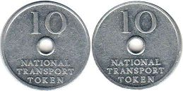 coin Token NATIONAL TRANSPORT TOKEN